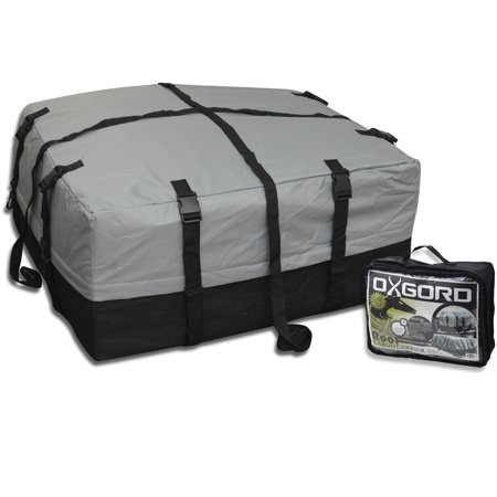 (Oxgord RC1143T Rooftop Cargo Carrier Bag - Gray & Black)