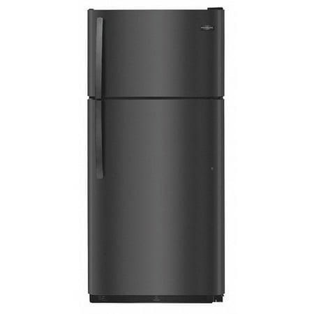 Refrigerator, 18.2 cu ft, Black