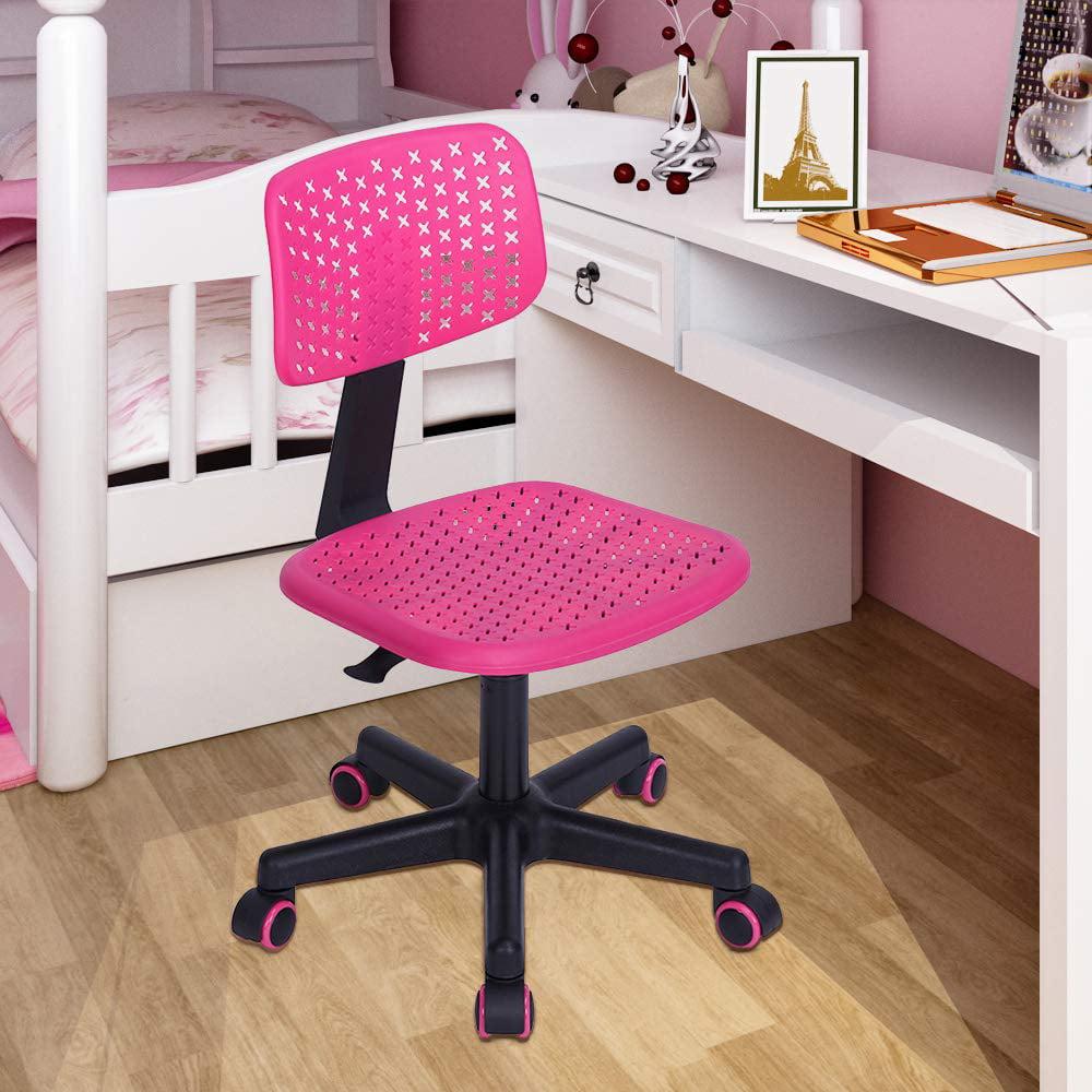 Blue Rolling Desk Chair