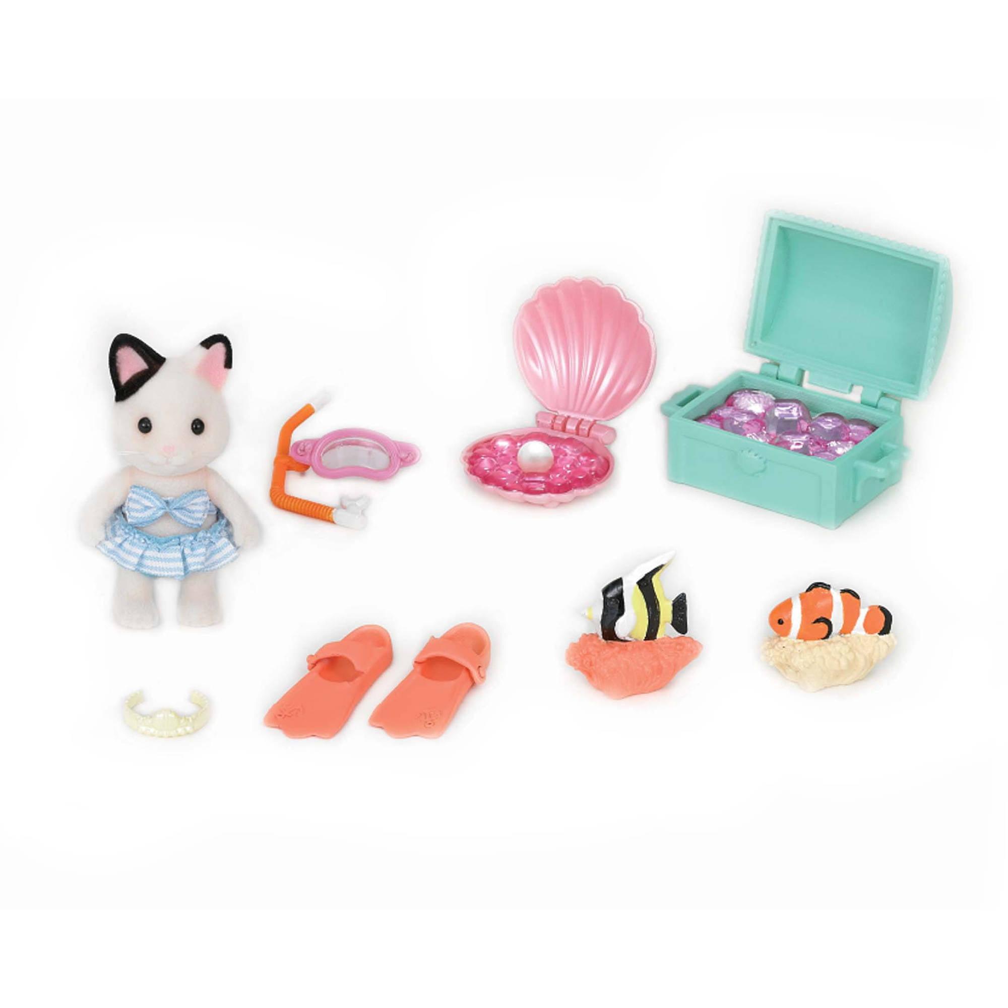 Calico Critters Seaside Treasure Set