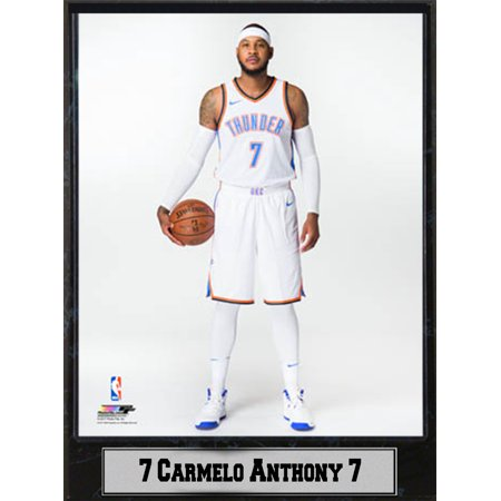 bab670c51f7 9x12 Plaque - Carmelo Anthony Oklahoma City Thunder - Walmart.com