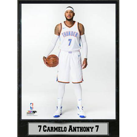 bab670c51f7 9x12 Plaque - Carmelo Anthony Oklahoma City Thunder - Walmart.com