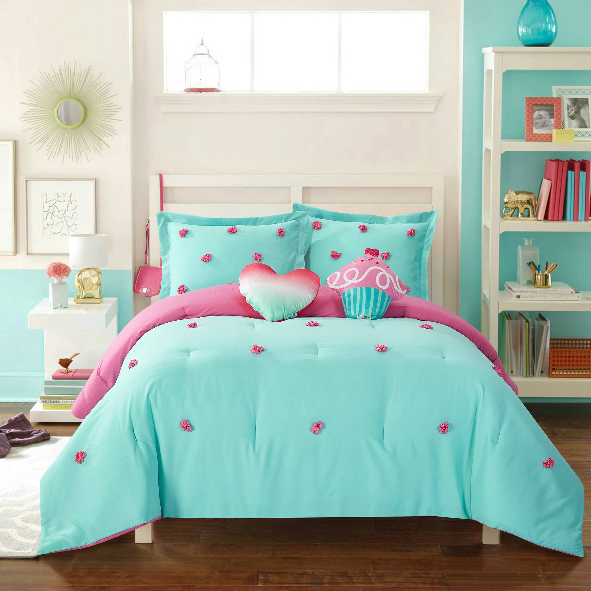 Better Homes & Gardens Kids Pom Pom Comforter Set