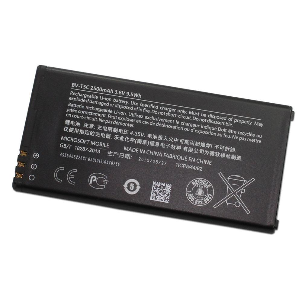 Original Microsoft BV-T5C 2500mAh Battery for Microsoft Lumia 640 in Non-Retail Packaging