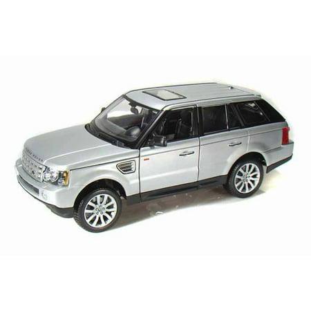 Range Rover Sport SUV, Silver - Maisto 31135 - 1/18 Scale Diecast Model Toy Car Maisto Toy Cars