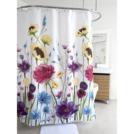 Splash Home Prisma Polyester Fabric Shower Curtain 70 X 72 Contemporary
