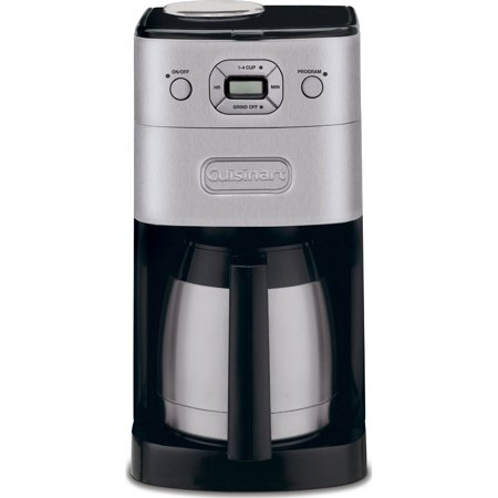 Cuisinart DGB-650BC Grind-and-Brew Thermal 10-Cup Automatic Coffeemaker - Brushed Metal (Certified