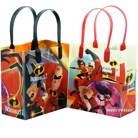 Disney Incredibles 12 Party Favor Small Goodie Bags - Frozen Goodie Bags