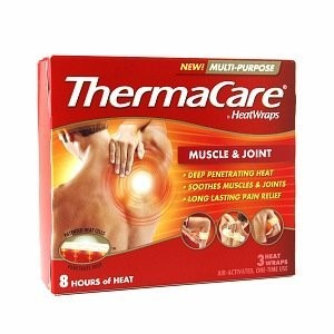 ThermaCare Multi-Purpose Muscle & Joint Pain Therapy (3 Count) Heatwraps, Up to 8 Hours of Pain Relief, Temporary Relief of Muscular, Joint Pains