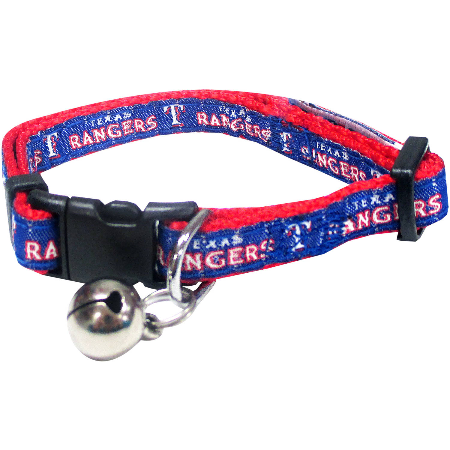 Pets First MLB Texas Rangers Cat Collar