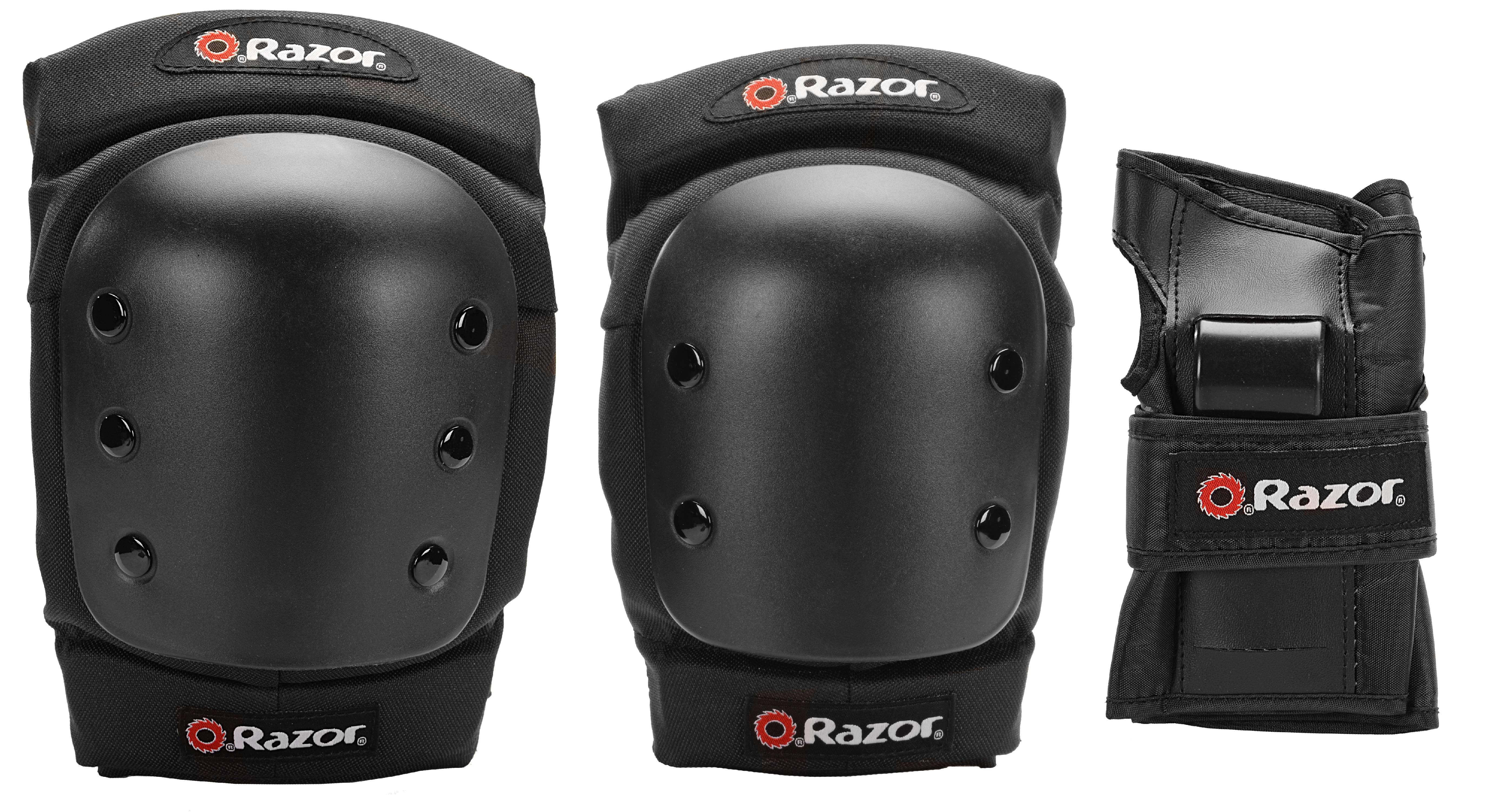 Razor Youth PRO Pad Set, Black by Kent International Inc