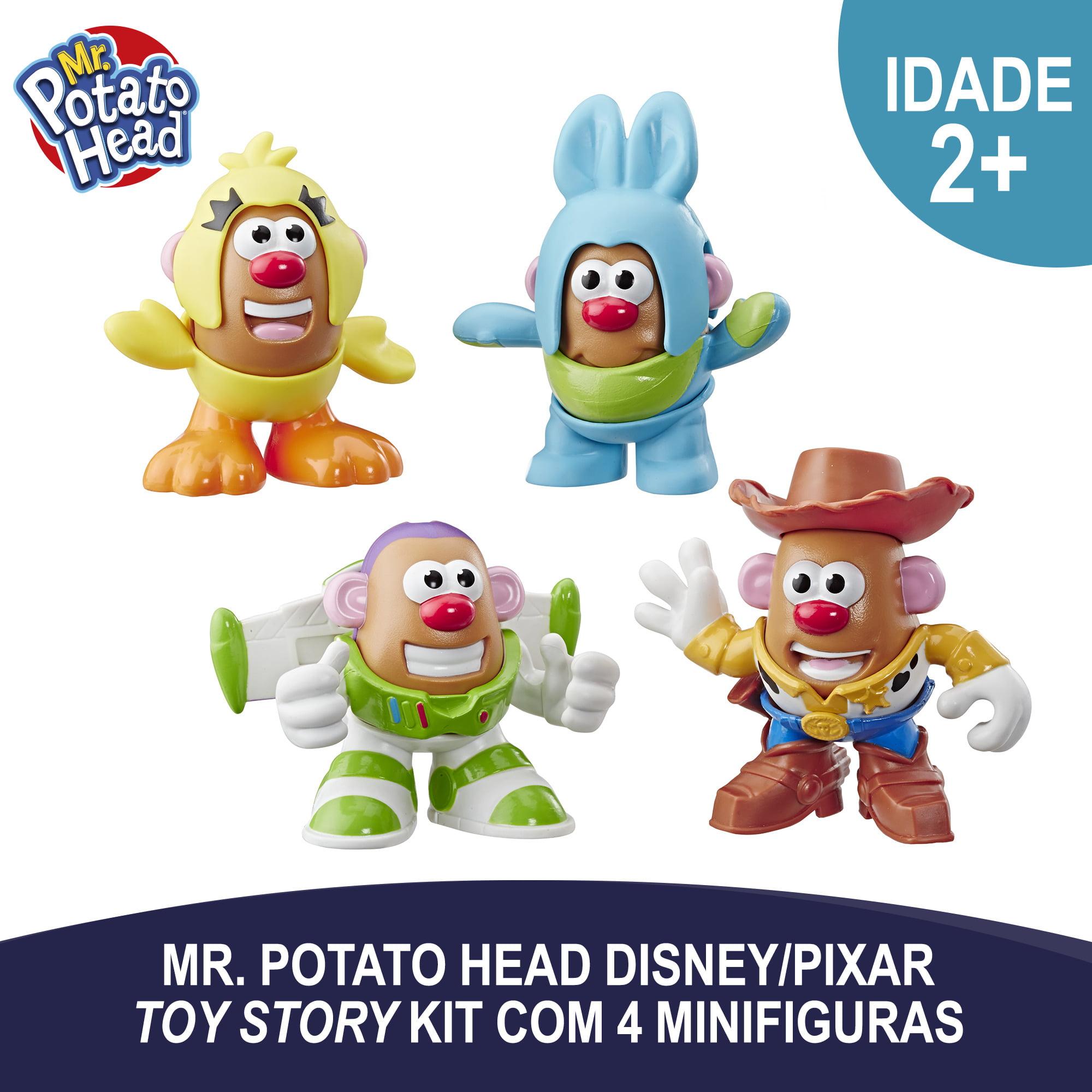 Toy Story 4 Mr Potato Head Mini 4 Pack Figure Set