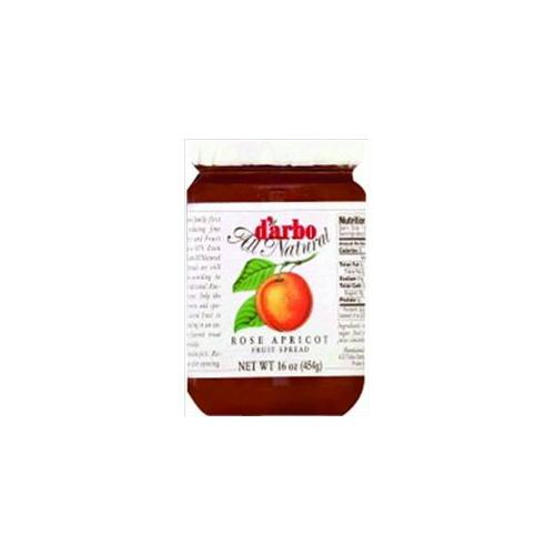 Darbo Fruit Spread Rose Apprict 16-Ounce (Pack of 6)