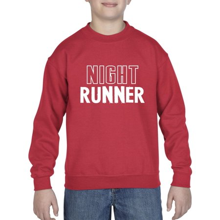 Artix Night Runner Gym Exercise Sport Fitness Workout Apparel Birthday Gift Unisex Youth Kids Crewneck Sweater Clothing