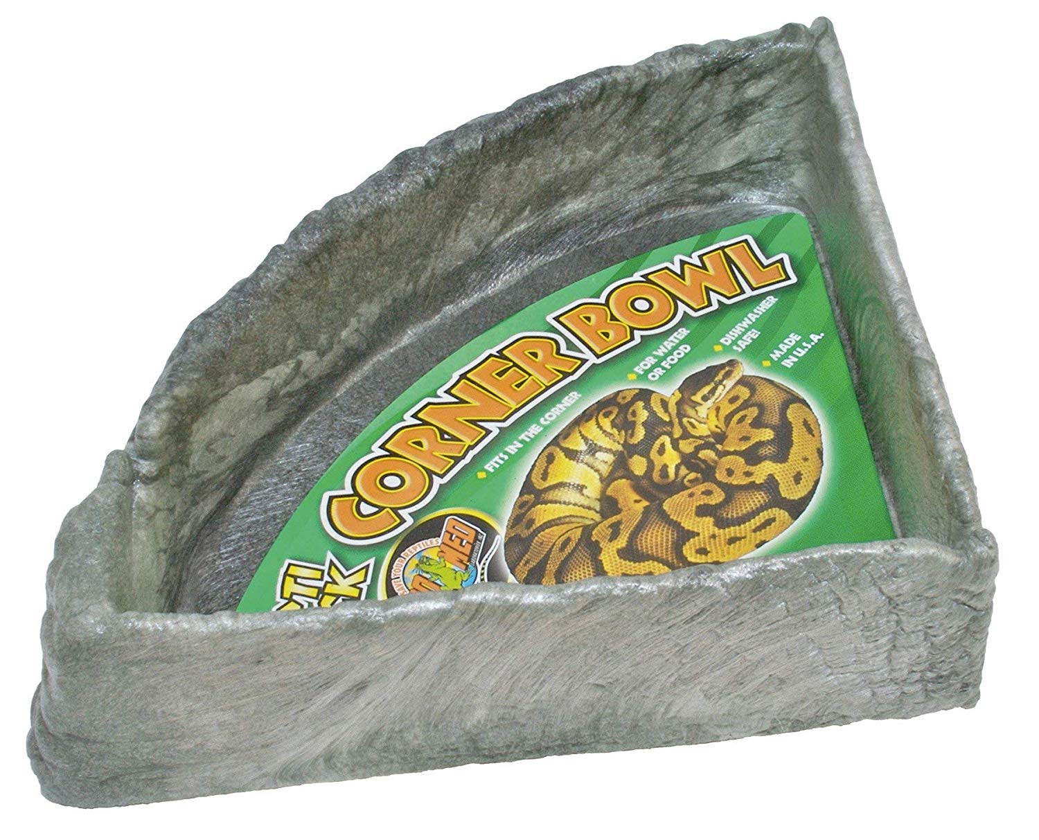 Reptile Rock Corner Water Dish Zoo Med X-Large by