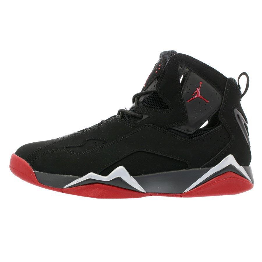 74d0945d831 ... basketball shoes black white black cool grey 342964 010 54100 cad6f   low price nike mens air jordan true flight black gym red metallic silver  342964 001 ...