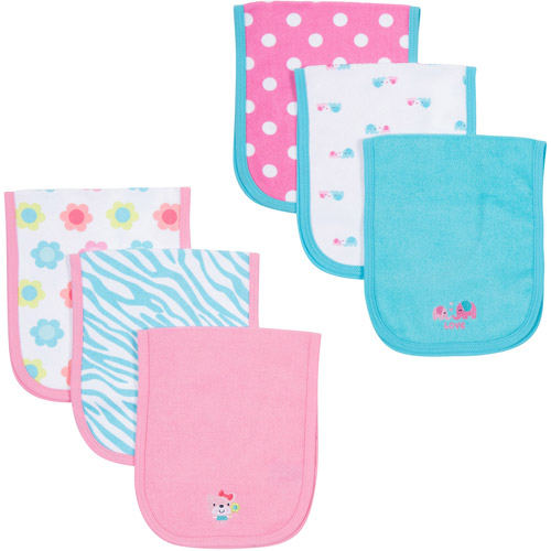 Gerber 6-Pack Terry Burp Cloths