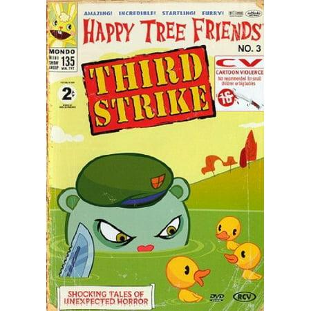 Happy Tree Friends - Volume 3 - Third Strike ( Happy Tree Friends - Volume 3 - Third Strike ) ( HTF - Vol. 3 - 3rd Strike ) [ NON-USA FORMAT, PAL, Reg.2 Import - Netherlands ] - Happy Tree Friends Halloween 2017
