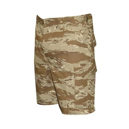Tru Spec 4259003 Mens Small Tiger Stripe Camo Ripstop Tactical BDU Shorts