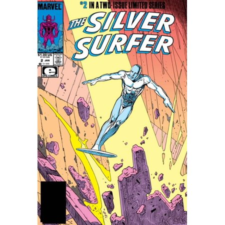 Silver Surfer By Stan Lee and Moebius No. 1: Silver Surfer Print Wall Art
