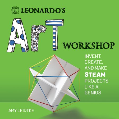Halloween Art Projects Preschool (Leonardo's Art Workshop : Invent, Create, and Make STEAM Projects like a)