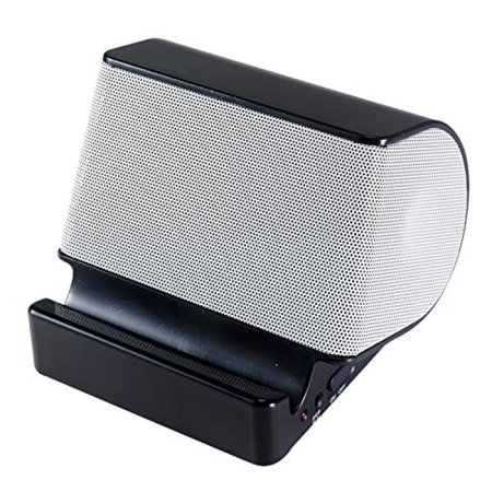 Craig Electronics CMA3546BTBK Portable Stereo Speaker with Bluetooth Wireless Technology