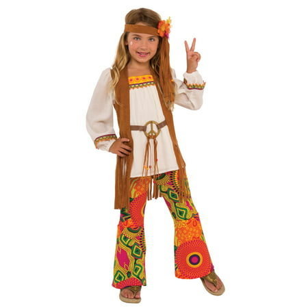 Flower Costume Jewelry - Girls Flower Child Costume
