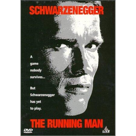 The Running Man  1987  Dvd    Arnold Schwarzenegger