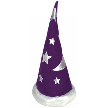 Mens Womens Child Renaissance Costume Merlin Wizard Hat (Woman Wizard Costume)