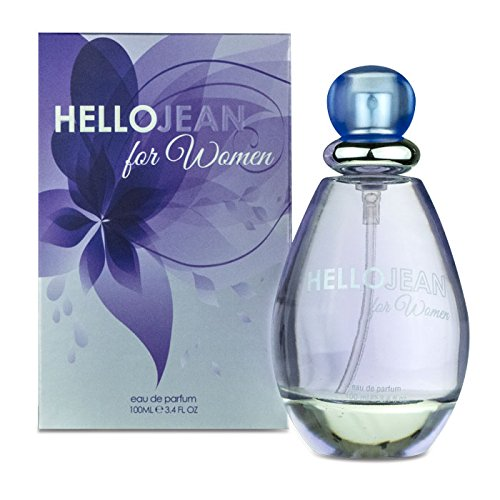 Hello Jean for Women Eau De Parfum Spray 3.4 Ounces