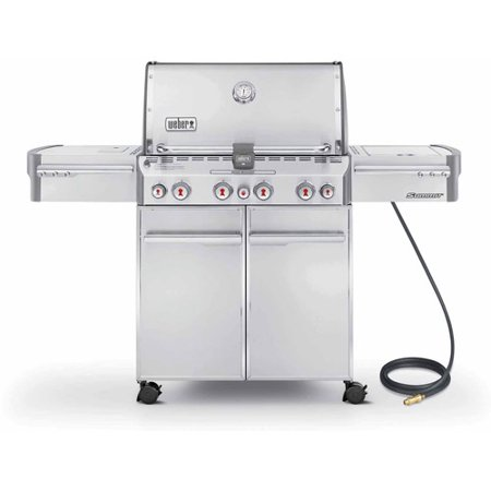 Weber Summit S-470 Gas Grill, Stainless Steel