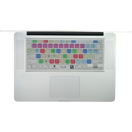 Ezquest X22400 Macbook R  13  Macbook Air R  Macbook Pro R  Wireless Keyboard Usa Iso Adobe Photoshop R  Keyboard Cover