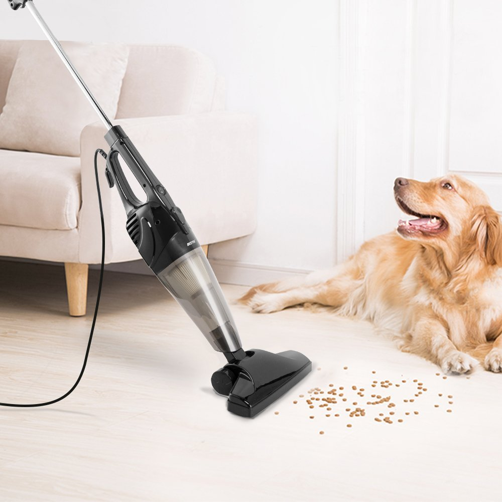 Corded Stick Vacuum Cleaner by BESTEK - Upright and Handheld 2-in-1 with