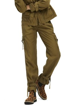 Scoop Luxe Cargo Pants Women's