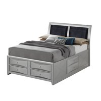 LYKE Home Silver King Storage bed