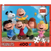 Together Time Varying Piece Size Puzzle Peanuts, 400pc