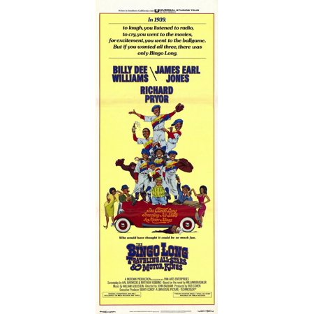 The Bingo Long Traveling All-Stars and Motor Kings POSTER Movie Insert A (14x36)