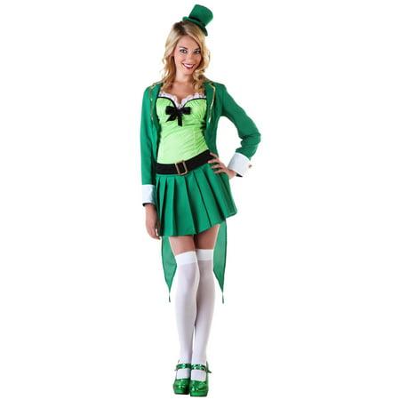 Leprechaun Costume Women (Womens Lucky Leprechaun)