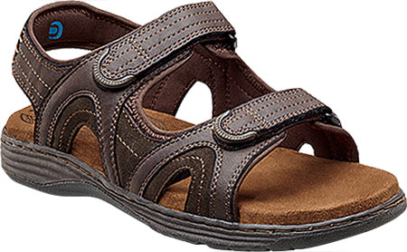 Men's Nunn Bush Randall 84542 Open Toe Sandal Memory Foam by