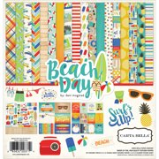 "Carta Bella Collection Kit 12""X12""-Beach Day"