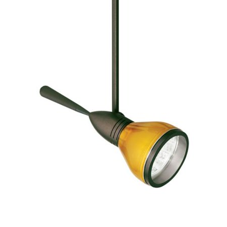 """Tech Lighting 700MPAE12 Aero 1-Light Monopoint Halogen Accent Light with 12"""" Stem and 4"""" Round Flush Canopy"""