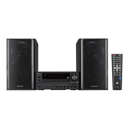 Sharp XLBH250 5-Disc Bluetooth Micro Shelf System XL-BH250