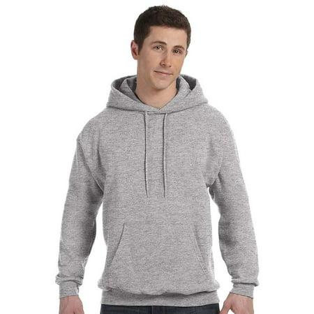 Hanes Men's ComfortBlend EcoSmart Pullover - Gold Zip Hoodie