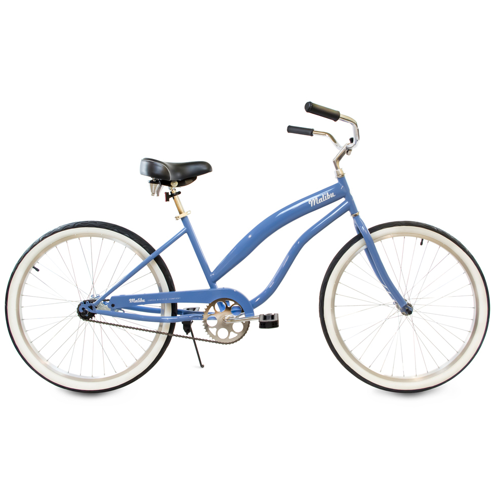 Malibu - Comfort Beach Cruiser Bicycle with Coaster Brake