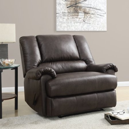 dorel living stanford chair and a half recliner