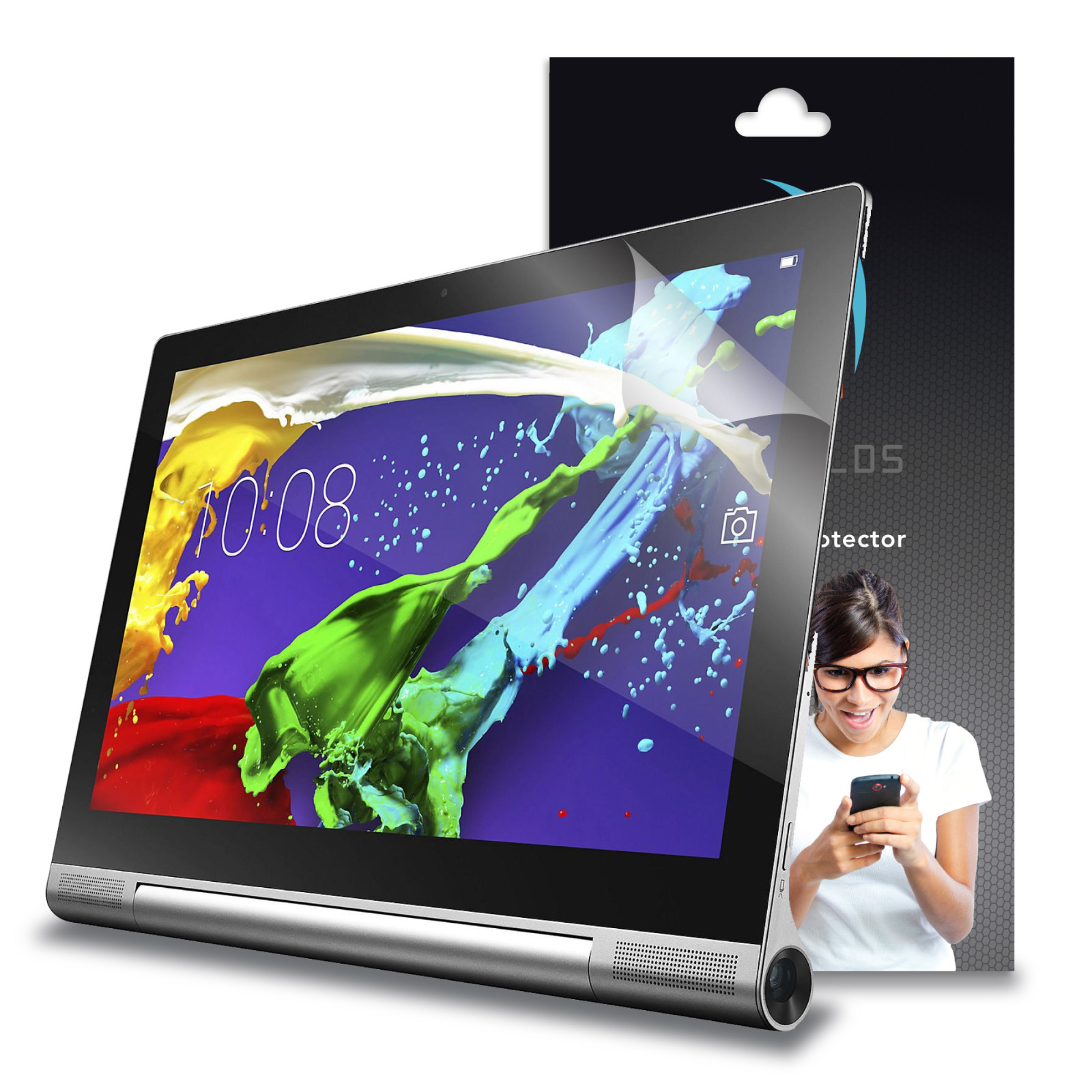 XShields© High Definition (HD+) Screen Protectors for Lenovo Yoga tablet 2 Pro 13.3 (Maximum Clarity) Super Easy Installation [4-Pack] Lifetime Warranty, Advanced Touchscreen Accuracy