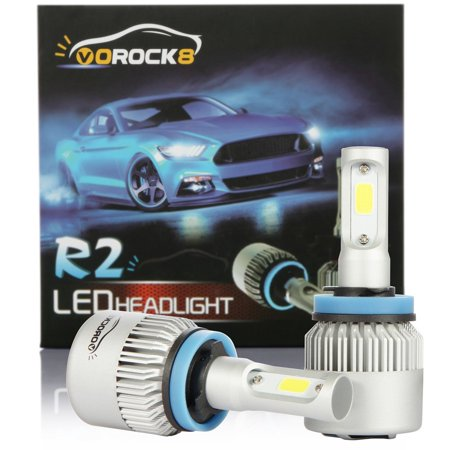 R2 Cob H11 H8 H9 H16 8000lm Led Headlight Conversion Kit Low Beam