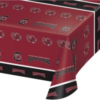University of South Carolina Plastic Tablecloth