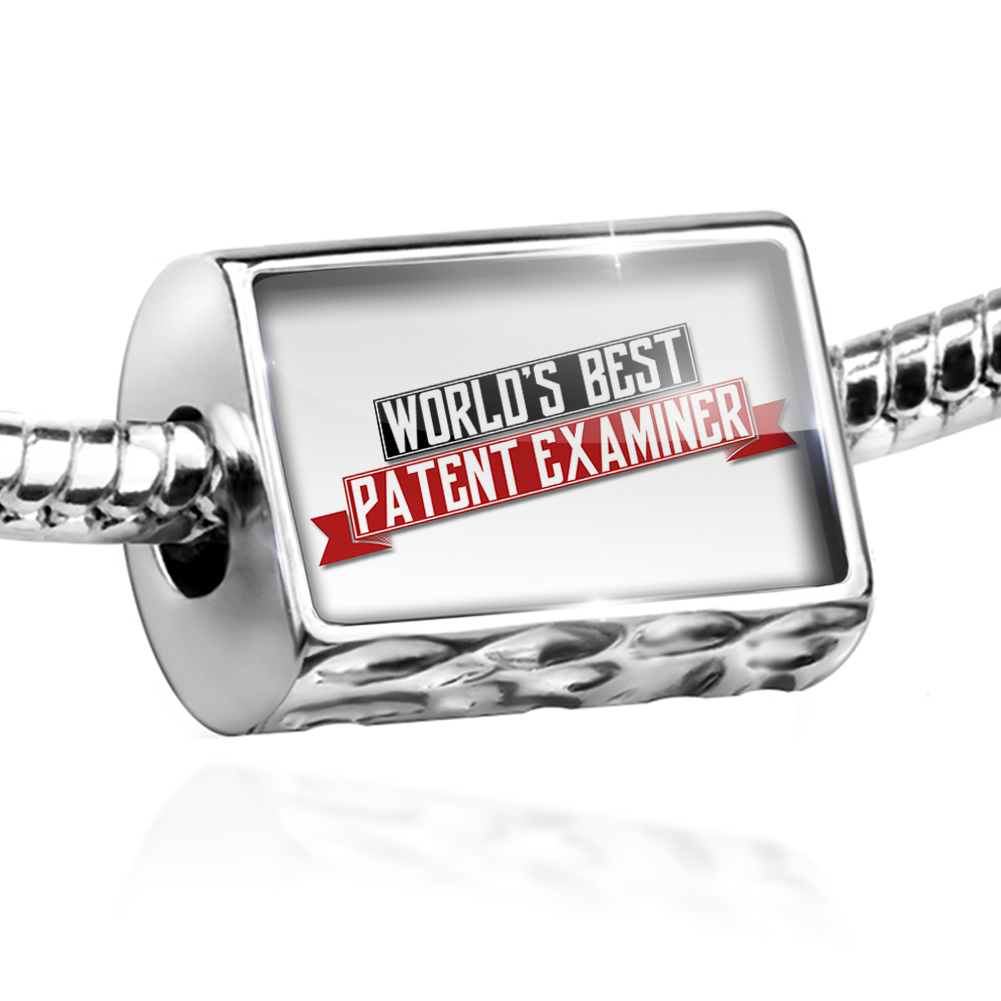 Bead Worlds Best Patent Examiner Charm Fits All European Bracelets