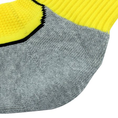 R-BAO Authorized  Outdoor Sports Soccer Football Long Socks Yellow Pair - image 1 of 5